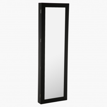 Jade Wall Mounted Accessory Cabinet with Mirror