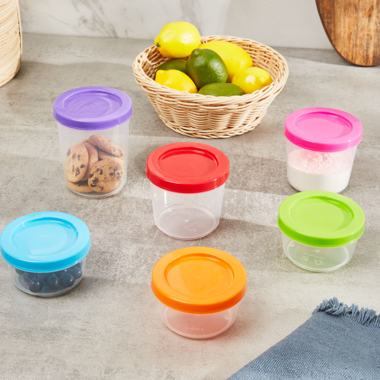 Fun 6-Piece Twist and Lock Container Set