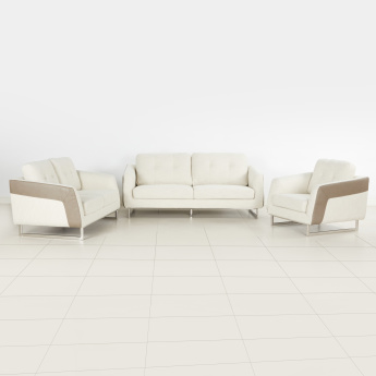 Agnes 2-Seater Sofa with Sloped Arms