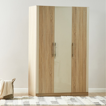 Hayden 3-Door Wardrobe with Mirror
