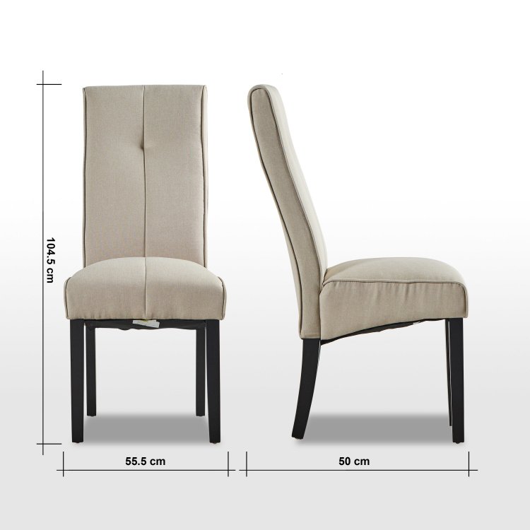 Rico Fabric Dining Chair