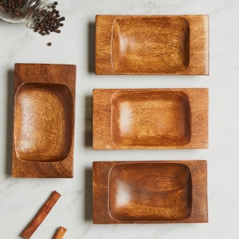 Rectangular Serving Tray - Set of 4