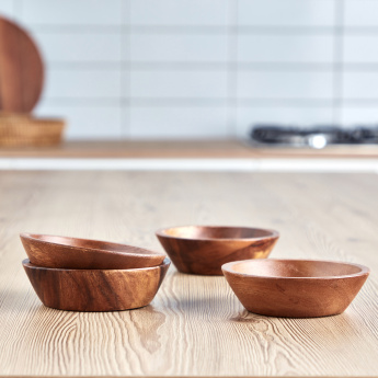 Acacia Tapered Bowl - Set of 4