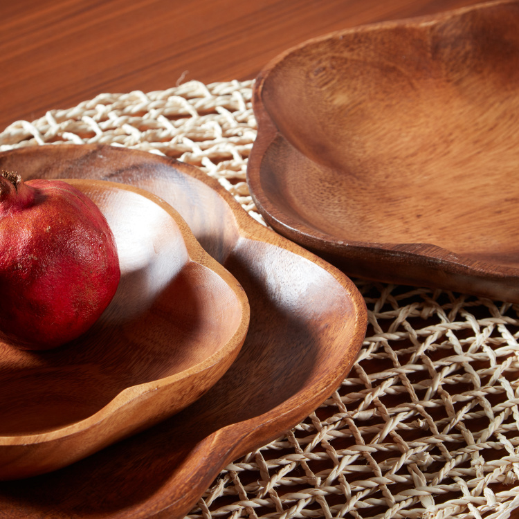 Acacia Wooden Serving Bowl