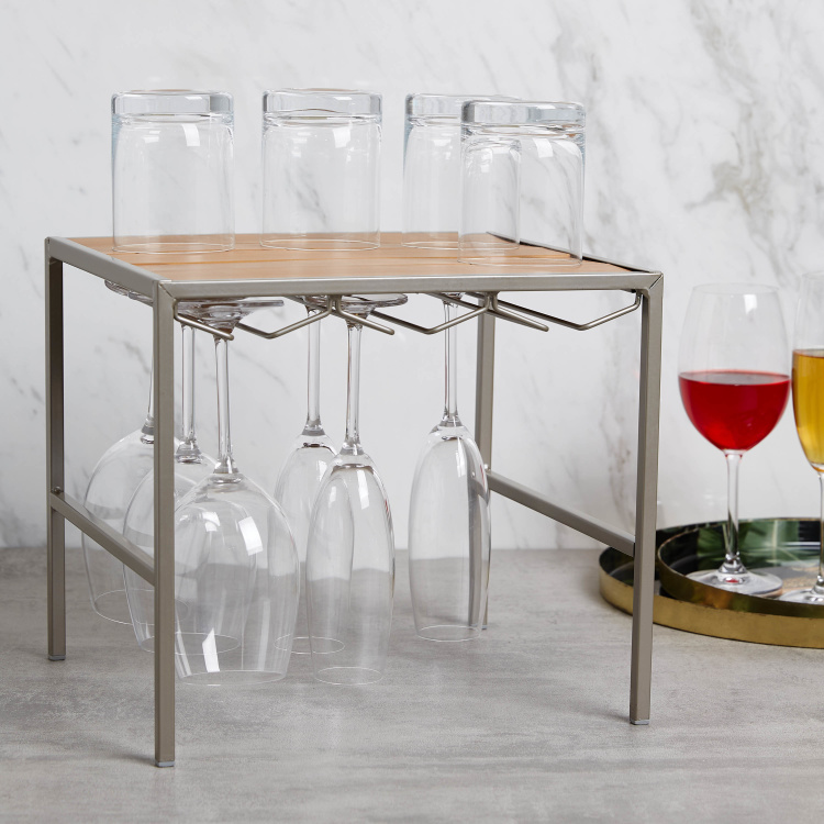 Resin Stemware Holder - 31.7 x 27.4 x 28.1 cms