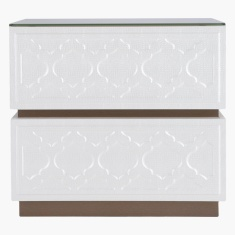 Myra 2-Drawer Nightstand