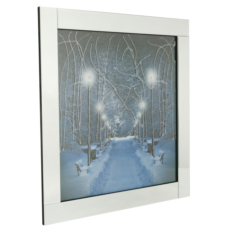 Aspen Mirror Framed Picture