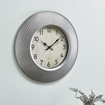 Leonado Matte Finish Round Wall Clock