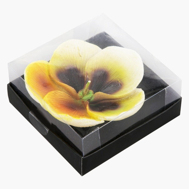 Floating Pansy Candle