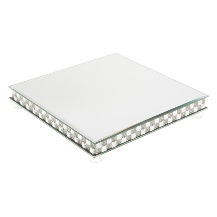 Shiza Thick Square Candle Plate