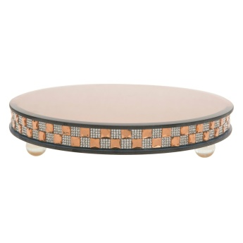 Shifaq Thick Round Candle Plate