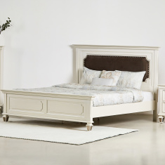 Kingsley King Bed with Headboard - 180x210 cms