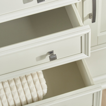 Kingsley 5-Drawer Dresser with Mirror