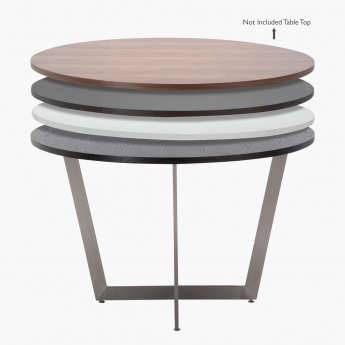 Blend 4-Seater Round Dining Table Frame