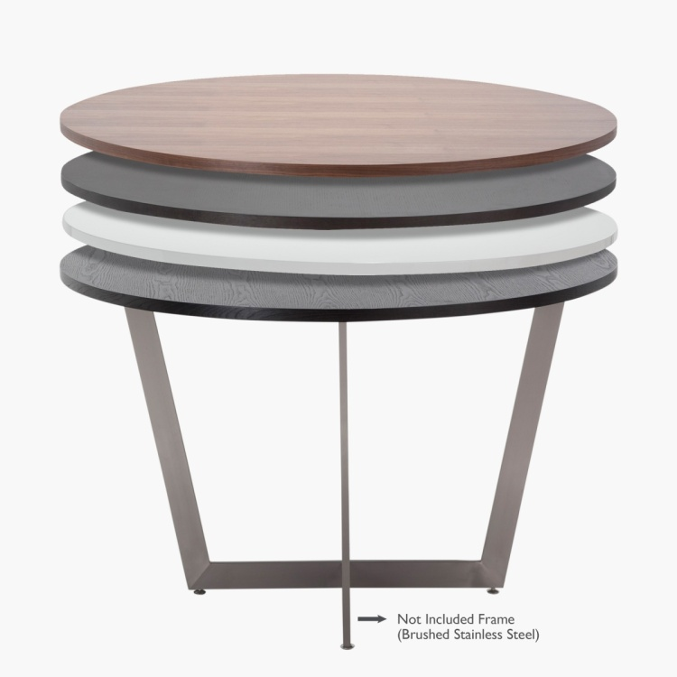 Blend 4-Seater Round Dining Table Top
