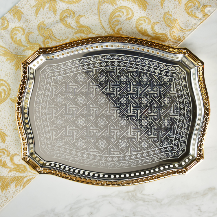 Arabia Curvy Gallery Tray