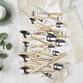 Arabia 24-Piece Cutlery Set