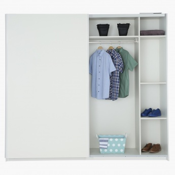 Moderno Sliding 2-Door Wardrobe
