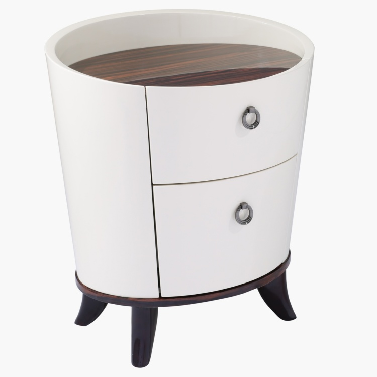 Benetton 2-Drawer Night Stand
