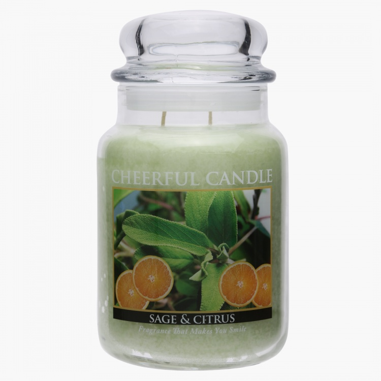 Sage and Citrus Jar Candle