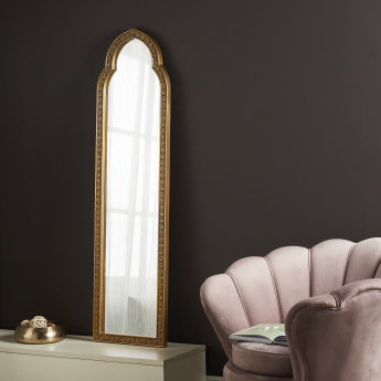 Arc Light Floor Mirror