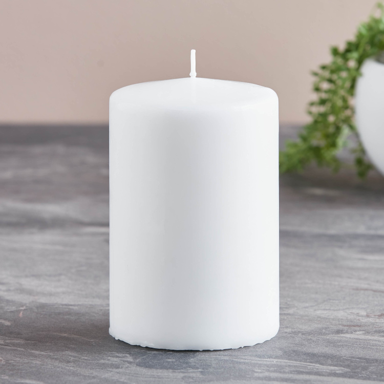 Rink Unscented Candle - 10x15 cms