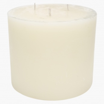 Rink 3-Wick Candle - 15.2x13 cms