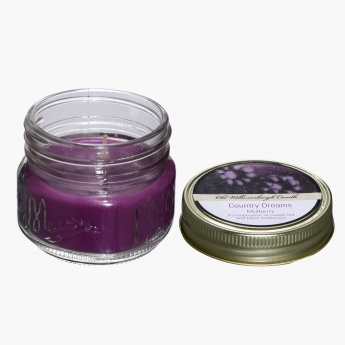 Mulberry Mason Jar Candle - 3 Oz