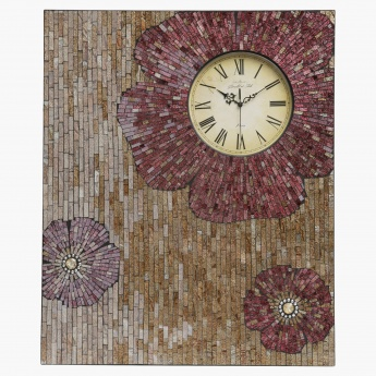 Mosaic Moments Wall Clock