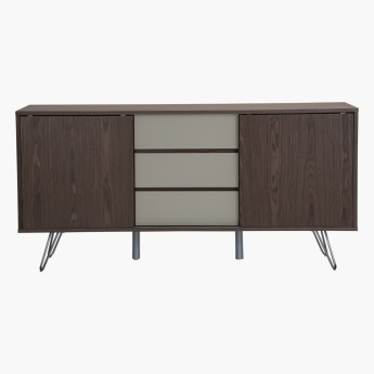 Harper Sliding 2-Door Buffet with  3-Drawers