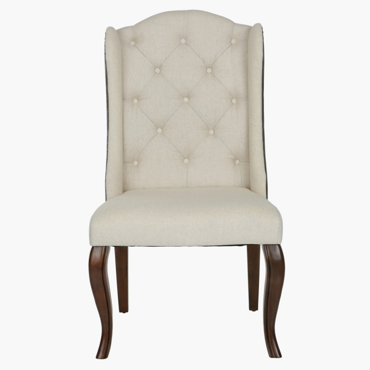 Voyage Tufted Armless Dining Chair