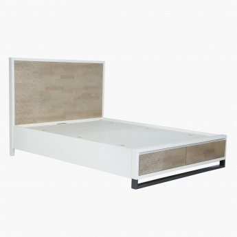 Marrakesh Queen Bed with Storage - 155x205 cms