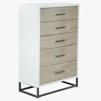 Marrakesh Chest of 5-Drawers