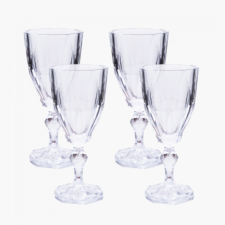 Dazzle Stem Glass - Set of 4