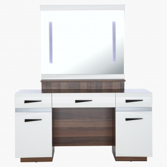 Splay Dresser with Mirror