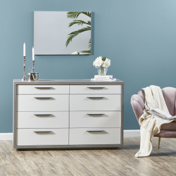 Petra 8-Drawer Rectangular Dresser
