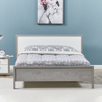Petra King Bed with Headboard - 180x210 cms