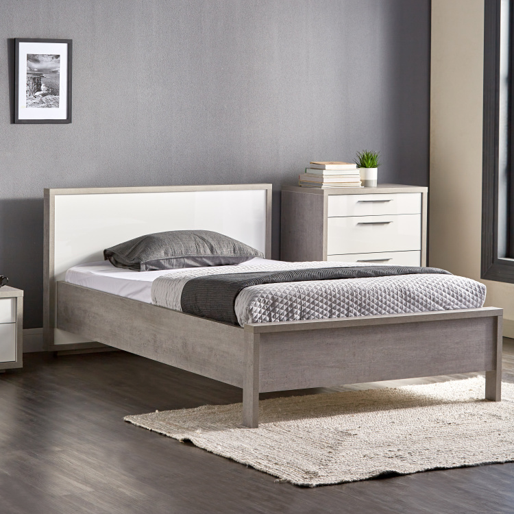 Petra Single Bed with Headboard - 120x200 cm