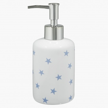 Sparkling Stars Ceramic Soap Dispenser