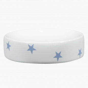 Sparkling Star Printed Soap Dish
