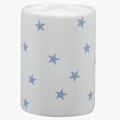 Sparkling Star Printed Toothbrush Holder