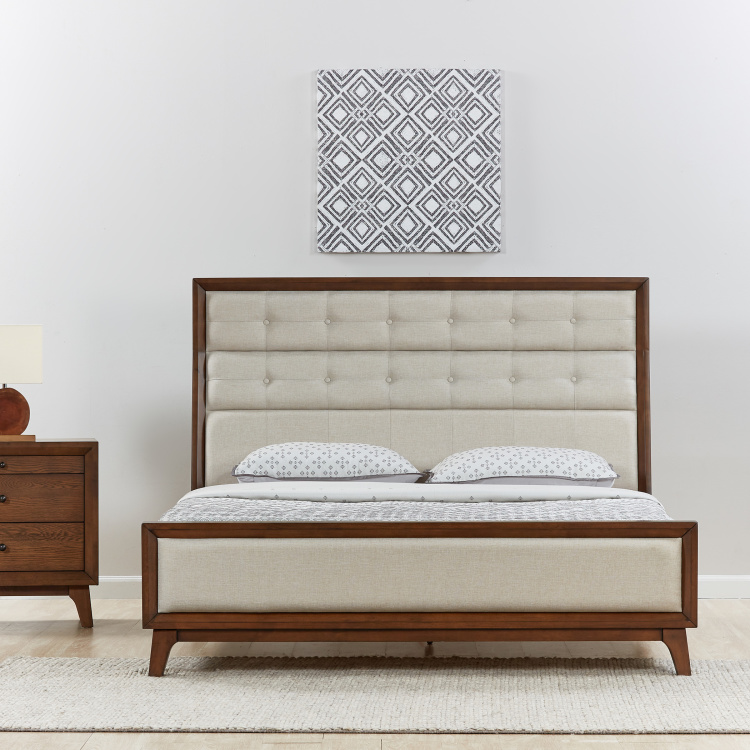 Lyra King Size Bed - 180x210 cm