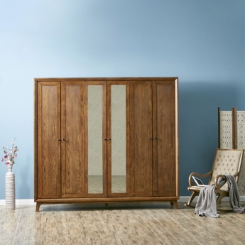 Lyra 6-Door Wardrobe