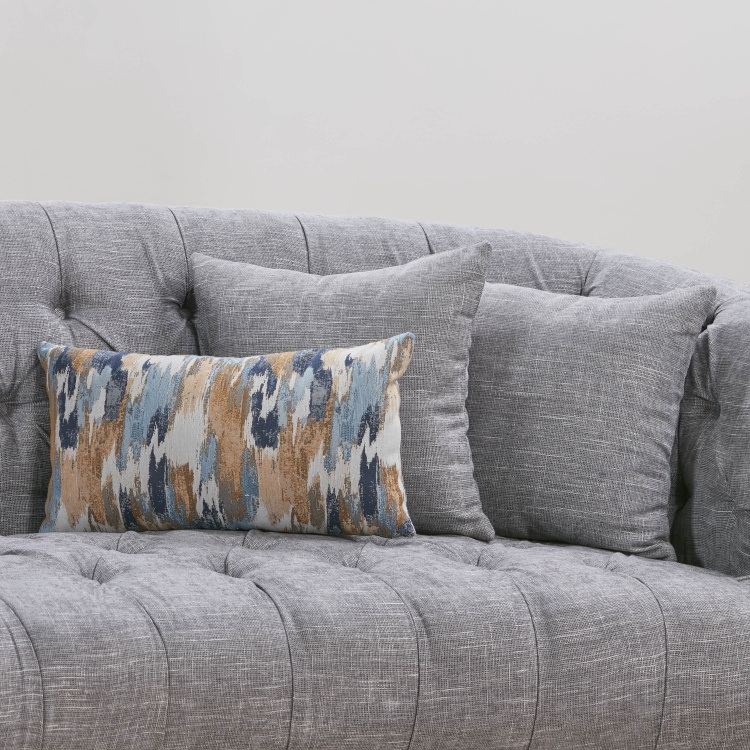 Smith 3-Seater Fabric Sofa