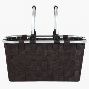 Luke Storage Basket with Handle - 40.6x29.2x20.3 cms