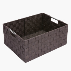 Luke Storage Basket with Cut Out Handles