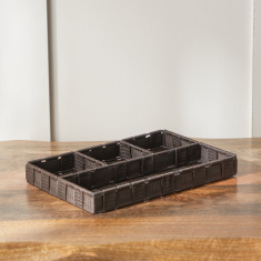 Luke 4-Section Thin Organizer - 30x20x3.5 cms