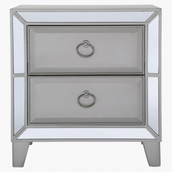 Majestic 2-Drawer Nightstand