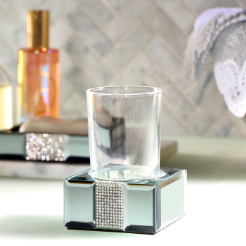 Ice Flow Tumbler Holder with Embellishment