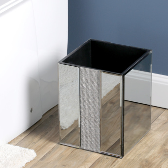Ice Flow Embellished Waste Bin